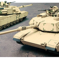 Tamiya - 1/35 M1A2 Abrams Main Battle Tank Plastic Model Kit