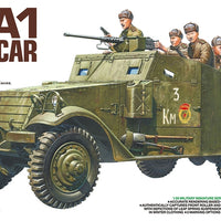 Tamiya - 1/35 M3A1 Scout Car Plastic Model Kit