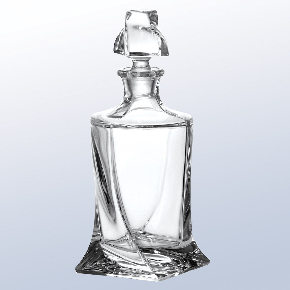 Quadro Decanter - Barone Crystal