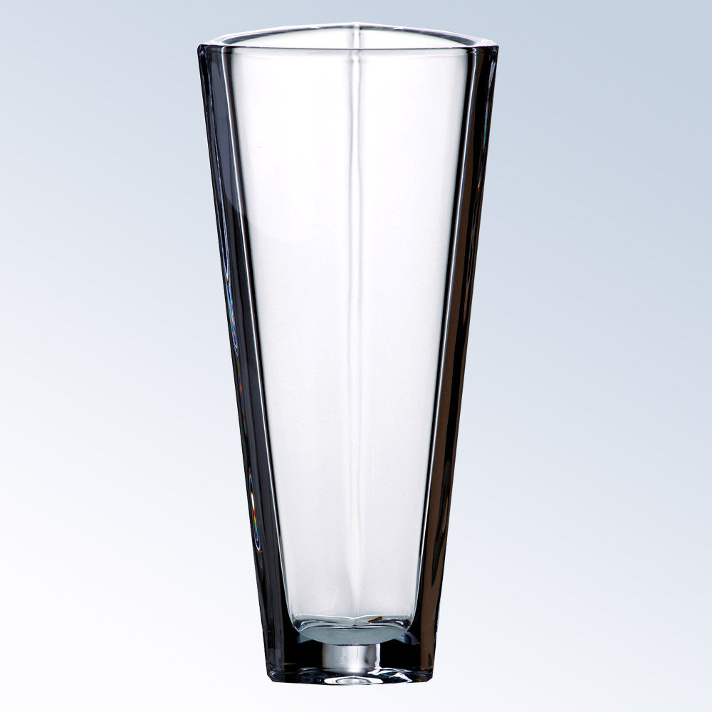 Triangle Vase - Barone Crystal