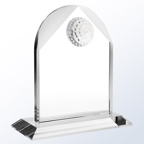 Distinguished Golf Arch - Barone Crystal
