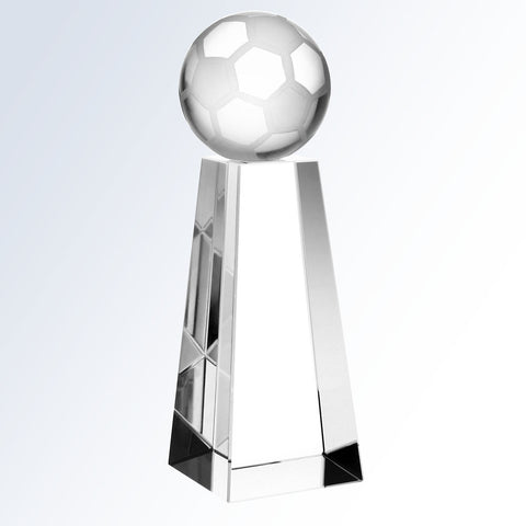 Championship Soccer Trophy - Barone Crystal
