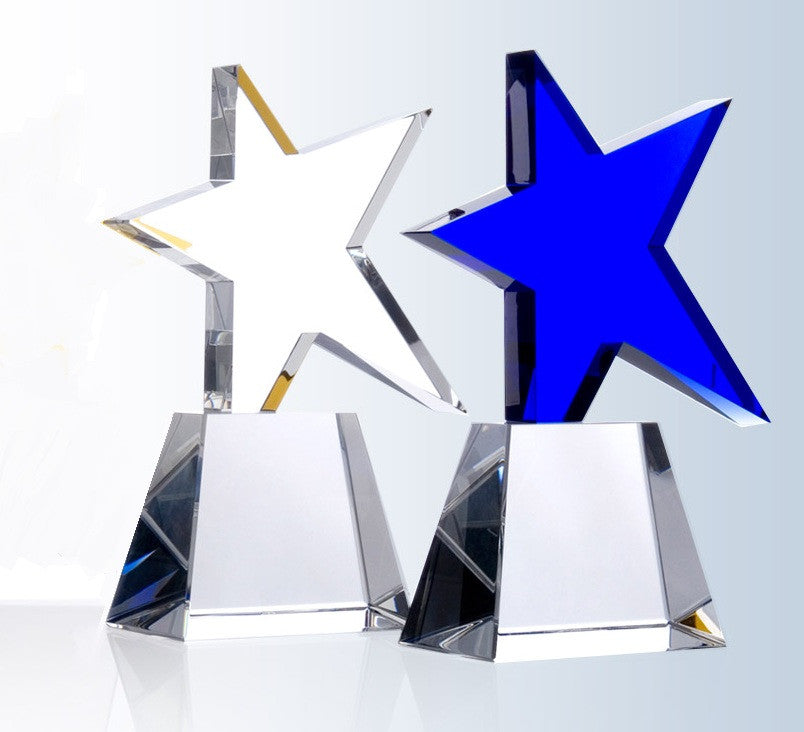 Meteor Star Award - Barone Crystal