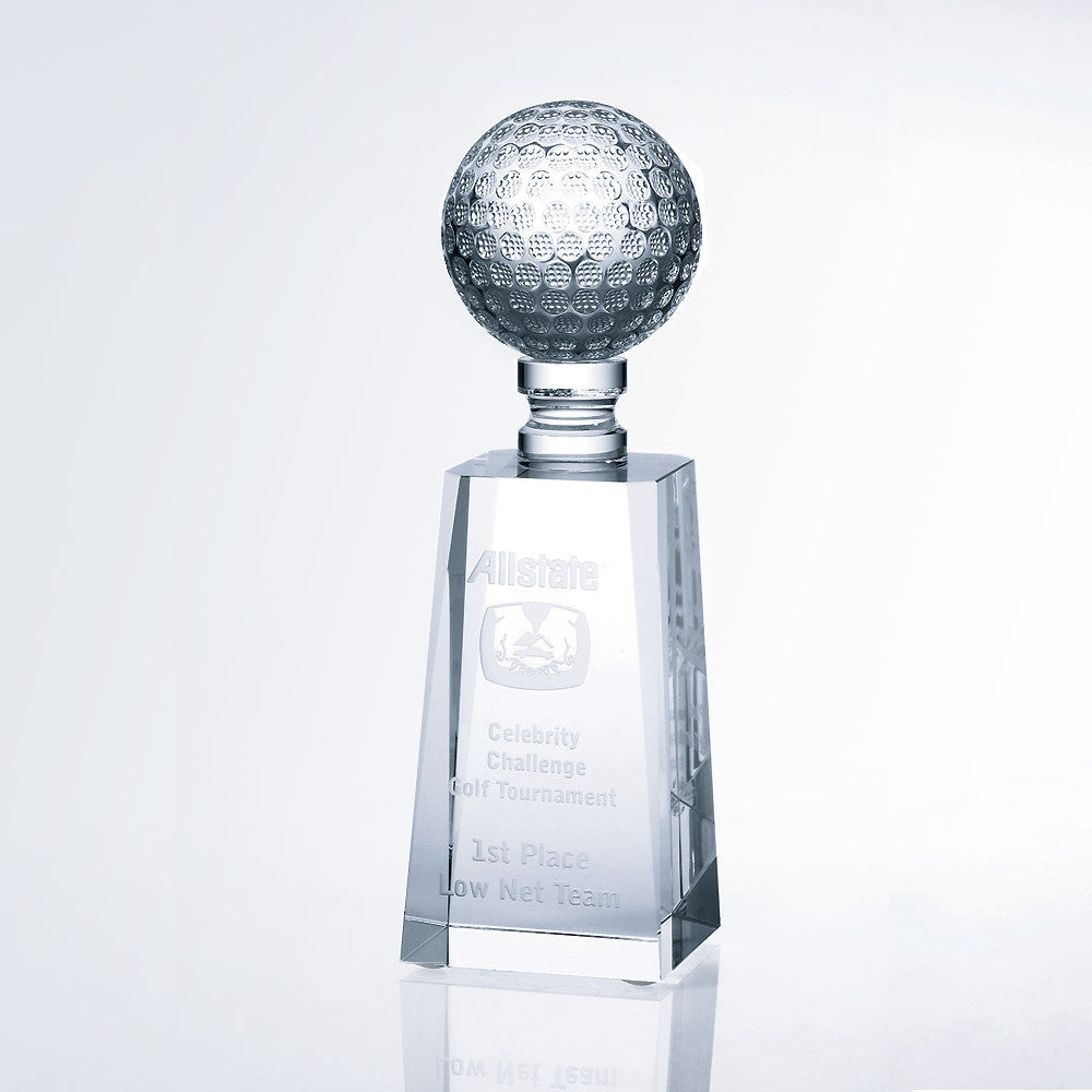 Golf Award - Barone Crystal
