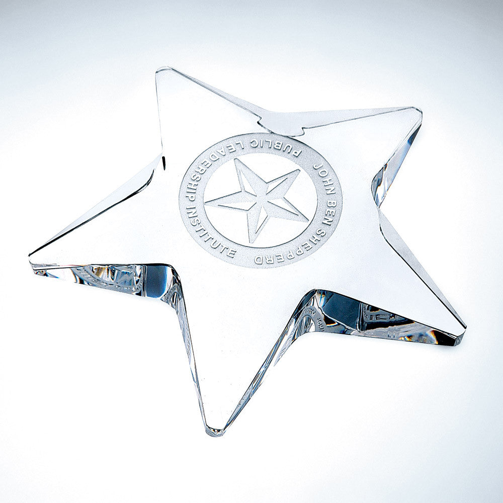 Pentagon Star - Barone Crystal