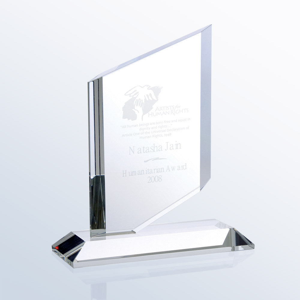 Sail Award - Barone Crystal