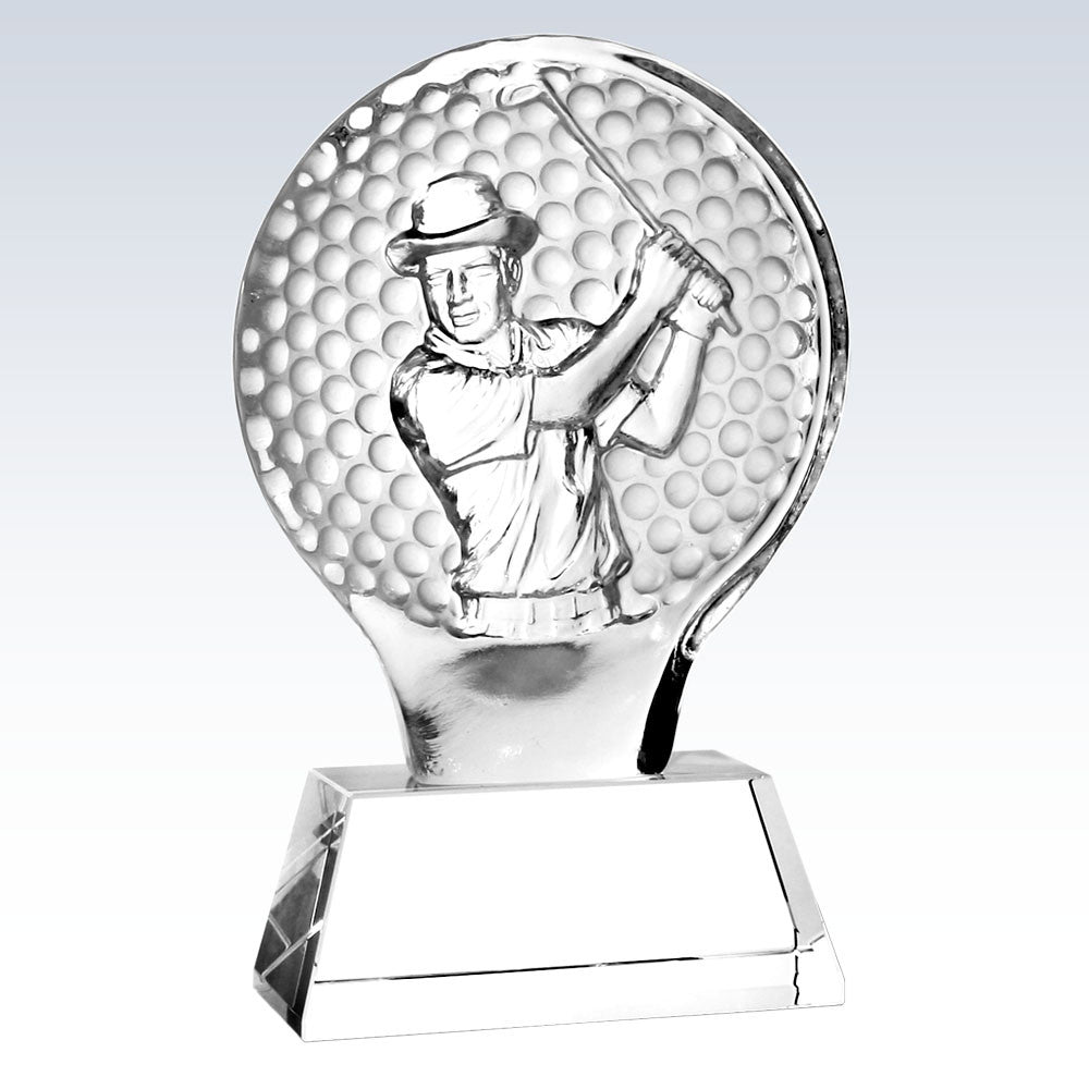 Male Golfer Champion Award - Barone Crystal