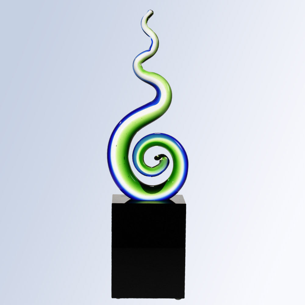 Green Spiral - Barone Crystal