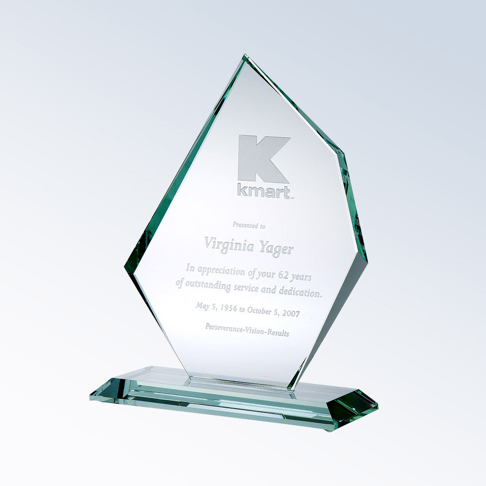 Distinct Summit Award - Barone Crystal