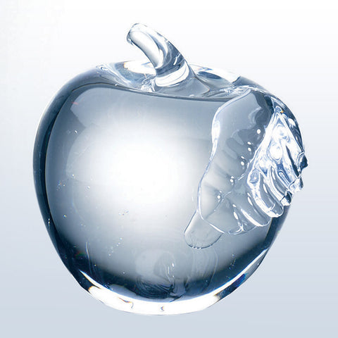 Apple w/ Leaf - Barone Crystal