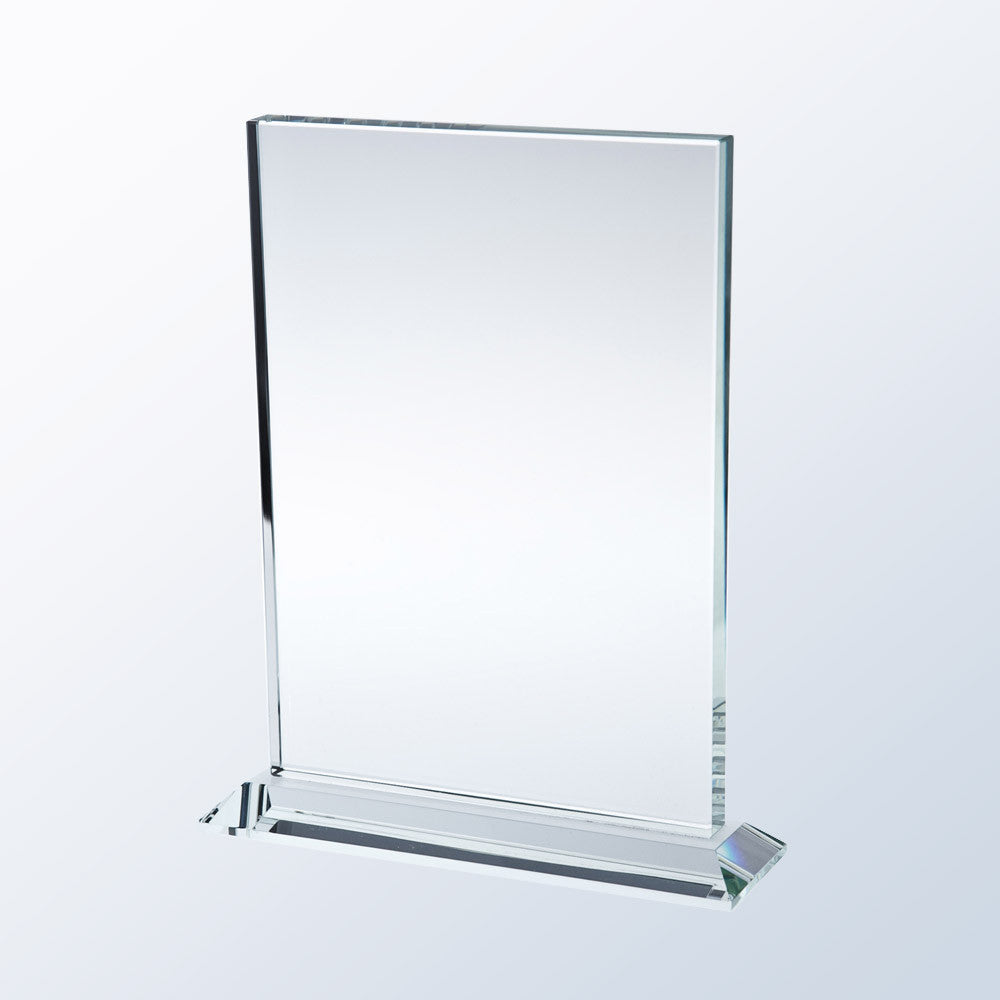 Vertical Rectangle w/ Base - Barone Crystal