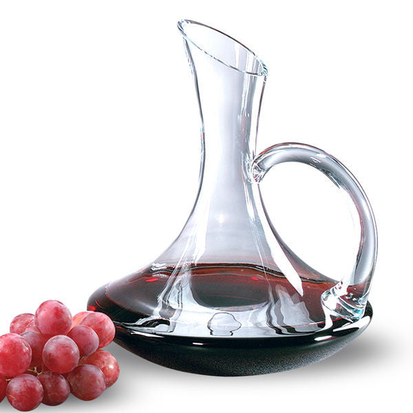 Tristan Handled Carafe - Barone Crystal