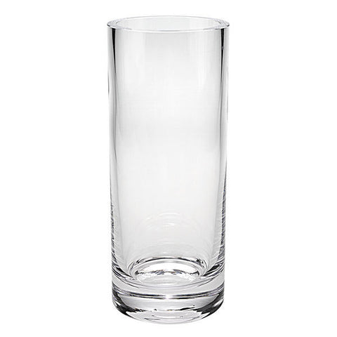 "Manhattan Cylinder Vase - 10"" - Barone Crystal"