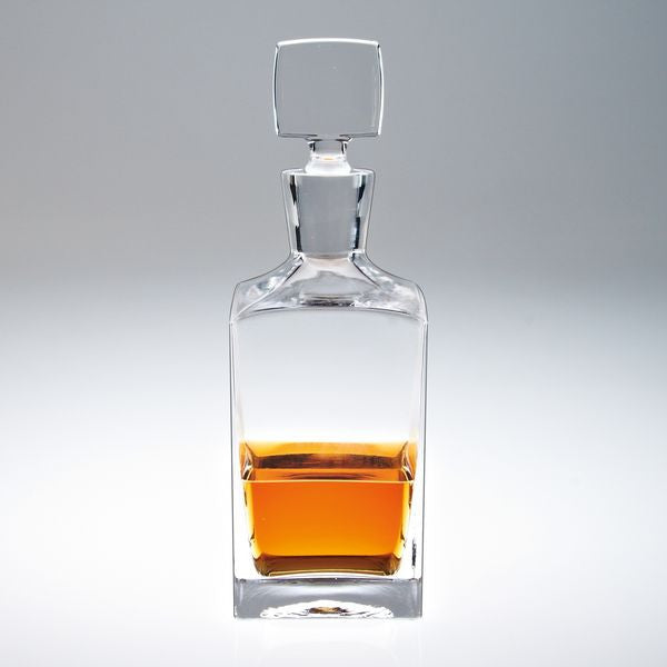 Enzo Square Decanter - Barone Crystal