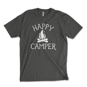 Happy Camper Men's Shirt - Brain Juice Tees
