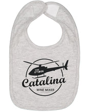 Load image into Gallery viewer, The Catalina Wine Mixer Baby Bib - Brain Juice Tees