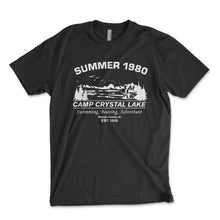 Load image into Gallery viewer, Camp Crystal Lake Men's Shirt - Brain Juice Tees