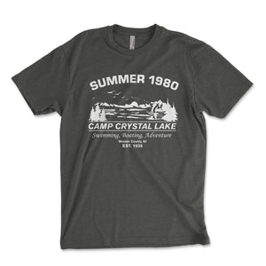 Camp Crystal Lake Men's Shirt - Brain Juice Tees