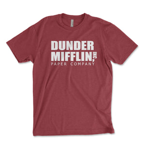 Dunder Mifflin Men's Shirt - Brain Juice Tees