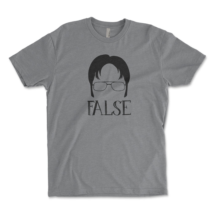 Dwight Schrute False Men's Shirt - Brain Juice Tees
