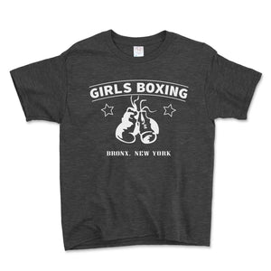 Girls Boxing Bronx New York Unisex Toddler Shirt - Brain Juice Tees