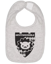 Load image into Gallery viewer, Gryffindorable Baby Bib - Brain Juice Tees