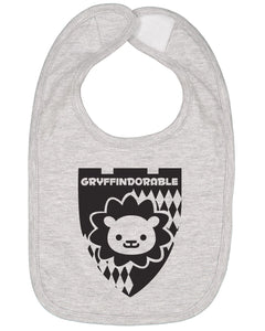 Gryffindorable Baby Bib - Brain Juice Tees
