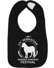 Load image into Gallery viewer, I Met Lil Sebastian Baby Bib - Brain Juice Tees