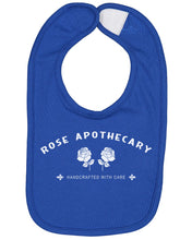 Load image into Gallery viewer, Rose Apothecary Baby Bib - Brain Juice Tees