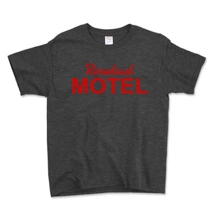 Rosebud Motel Unisex Toddler Shirt - Brain Juice Tees