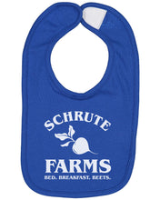 Load image into Gallery viewer, Schrute Farms Bed And Breakfast Baby Bib - Brain Juice Tees