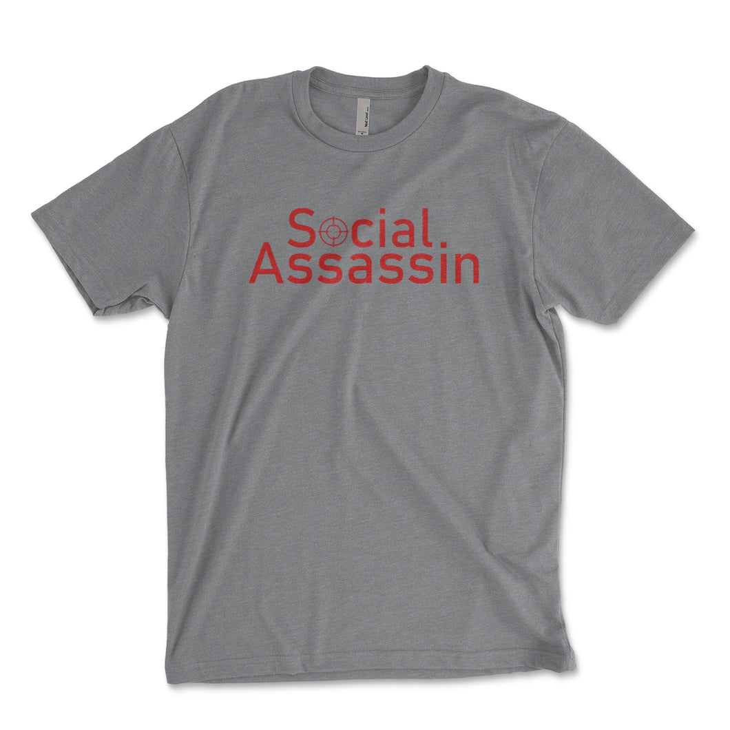 Social Assassin Men's Shirt - Brain Juice Tees
