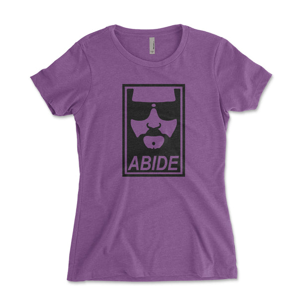 Abide The Big Lebowski Junior Fit Womens Shirt - Brain Juice Tees