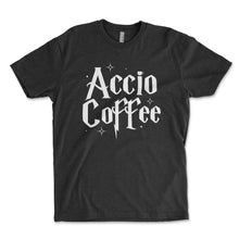 Load image into Gallery viewer, Accio Coffee Mens Shirt - Brain Juice Tees