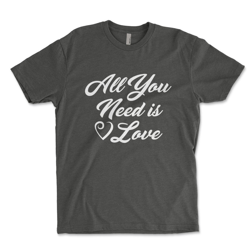 All You Need Is Love Mens Shirt - Brain Juice Tees