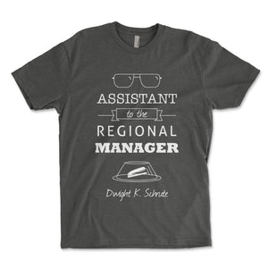 Assistant To The Regional Manager Men's Shirt - Brain Juice Tees