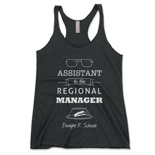 Load image into Gallery viewer, Assistant To The Regional Manager Women's Tanktop - Brain Juice Tees