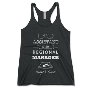 Assistant To The Regional Manager Women's Tanktop - Brain Juice Tees