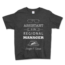 Load image into Gallery viewer, Assistant To The Regional Manager Unisex Toddler Shirt - Brain Juice Tees