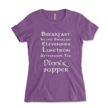 Load image into Gallery viewer, Second Breakfast Women's Fit Shirt - Brain Juice Tees