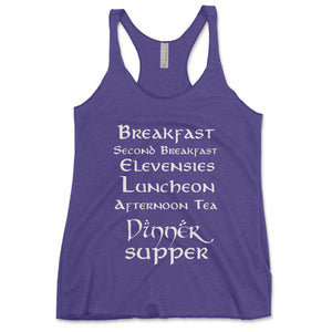 Second Breakfast Women's Tanktop - Brain Juice Tees