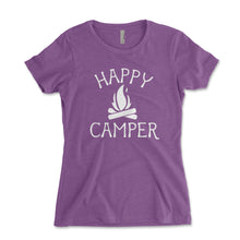 Load image into Gallery viewer, Happy Camper Women's Shirt - Brain Juice Tees