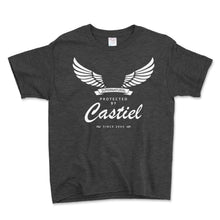Load image into Gallery viewer, Protected By Castiel Unisex Toddler Shirt - Brain Juice Tees