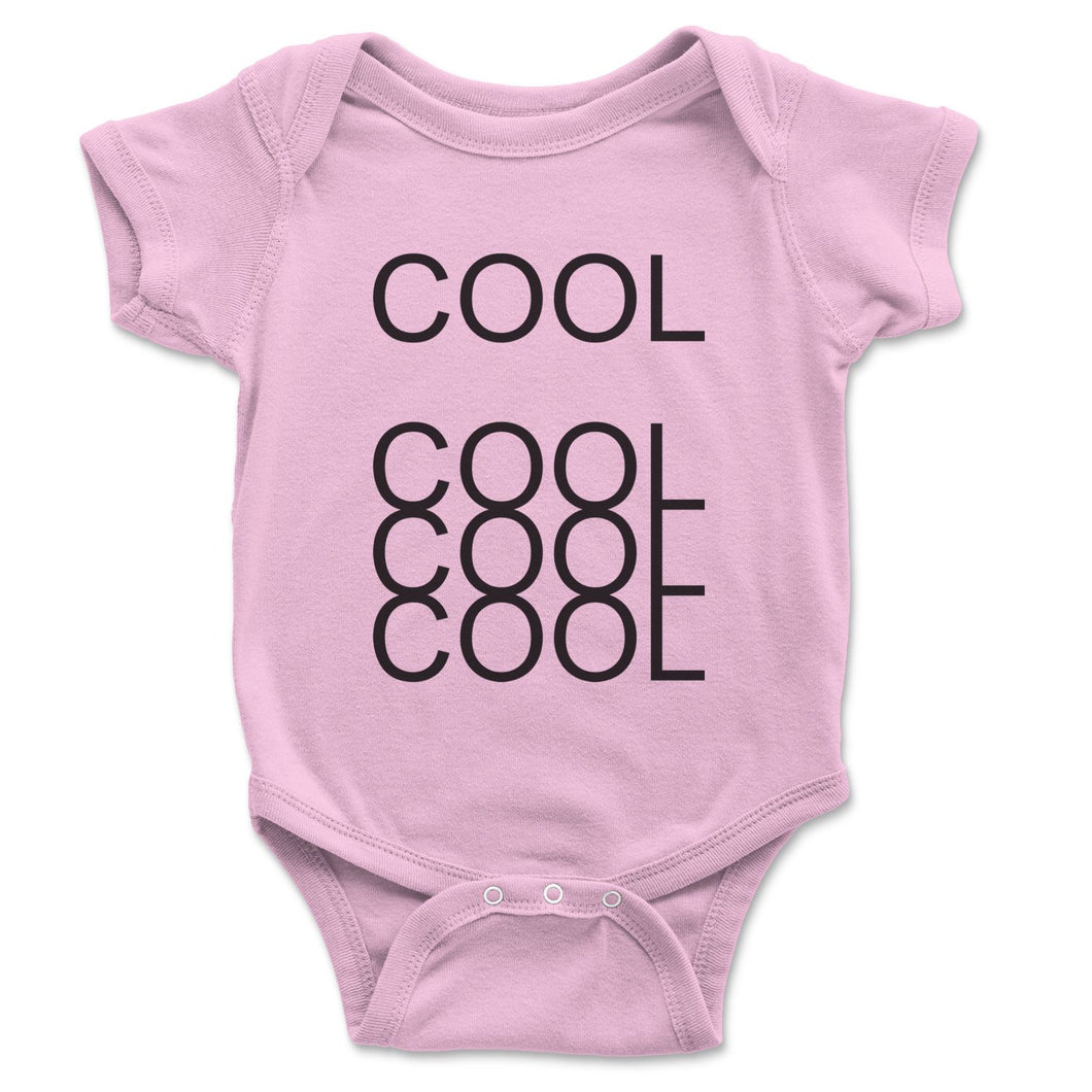 Cool Cool Cool Baby Onesie