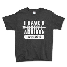 Load image into Gallery viewer, I Have A Daryl Addixon Unisex Toddler Shirt - Brain Juice Tees