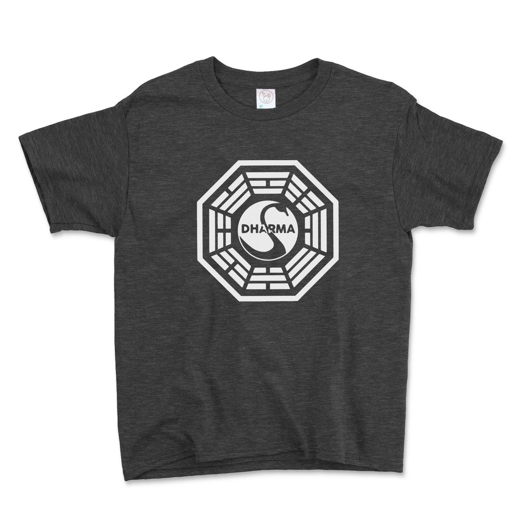 Dharma Initiative Swan Station Unisex Toddler Shirt - Brain Juice Tees