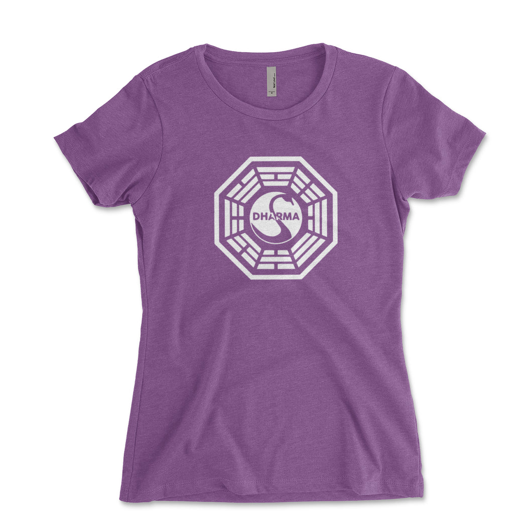 Dharma Initiative Swan Station Women's Shirt - Brain Juice Tees