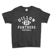 Load image into Gallery viewer, Dillon Panthers Football Unisex Toddler Shirt - Brain Juice Tees