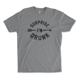 Surprise I'm Drunk Men's Shirt