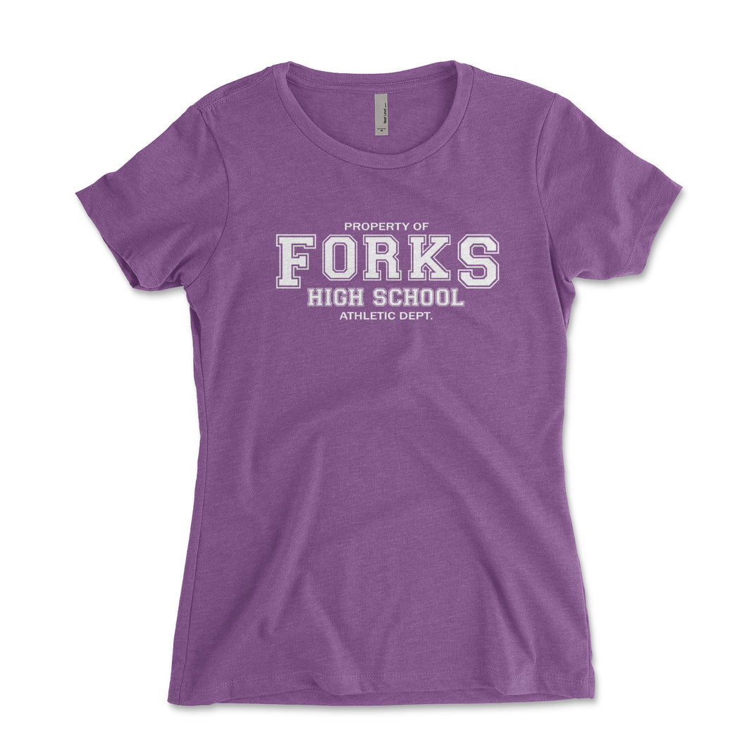 Forks High School Athletic Department Women's Shirt - Brain Juice Tees